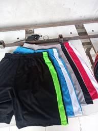 """Shorts de helanca light cores sem bolso """"acima de 10 peças"""""""