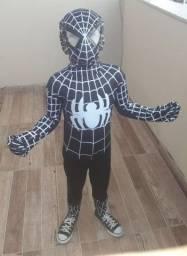 Roupa fantasia Homem Aranha
