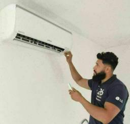 Equipamento de ar condicionado Instalação