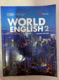 livro world english 2 second edition - national geographic - usado
