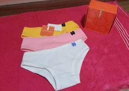Kits calcinhas infantil  marca diamante original