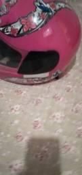 Vendo capacete adulto rosa