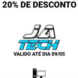 J.A TECH 20% DE DESCONTO!!!