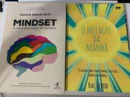 Livros milagre da manhã e mindset