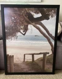 Quadro praia Urban Arts