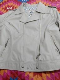 Barbada jaqueta de couro