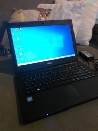 Notebook Acer impecável Intel Pentium Quad Core