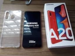 Samsung Galaxy A20s, Vermelho, 32GB