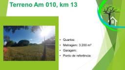 Título do anúncio: terreno AM 070, km 13