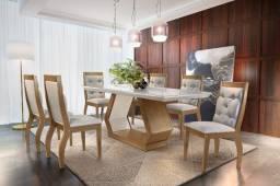 Mesa de Jantar Alvorada com 6 Cadeiras esp314