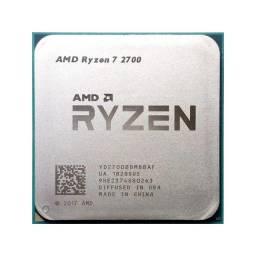 Ryzen 2700 R7 8/16 Amd Am4 Ddr4 Processador Cpu