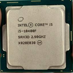 Processador Intel decima geração/ Modelo i5 10400f com 2.9GHz (4.3GHz Max Turbo)- NOVO