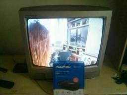 """TV LG 21""""  de tubo + conversor digital"""