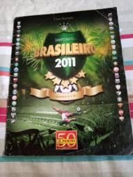 álbum figurinhas brasileirao 2011