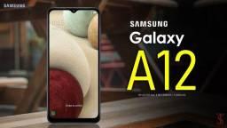 Samsung A12 Lacrado, Novo, Na caixa Nota fiscal e Garantia de 1 ano! Menor preço
