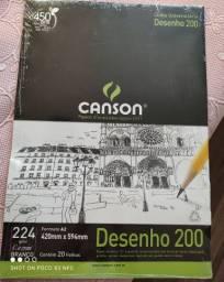 Bloco Canson A2