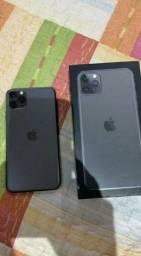 Iphone 11 pro Max 64gb completo com todos acessórios