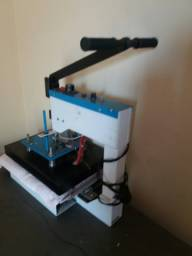 Maquina de estampa silk