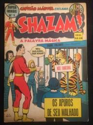 Shazam Em Cores N° 3 Ebal 1974