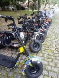 Moto scooter elétrica