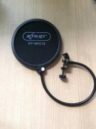 Pop filter Tela de proteção para Microfone Knup