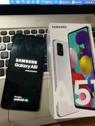 Galaxy A51 128GB 3 meses de uso