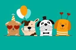 Painel Decorativo! Festa animal! Traga a foto do seu bichinho! Metro quadrado!
