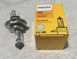 Lâmpadas Farol H4 12v 55/60w Philips