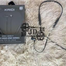 Fone Bluetooth Kaidi original - bateria até 10hrs e qualidade nos graves e agudos