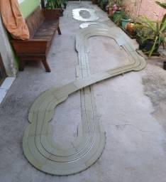 2 pista de autorama + - 14 metros