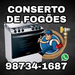 Conserto de fogão & instalação de gás PB