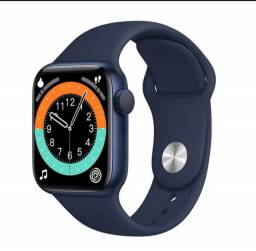 Promoção smartwatch T500 plus azul