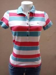 camiseta lacoste polo feminina linda