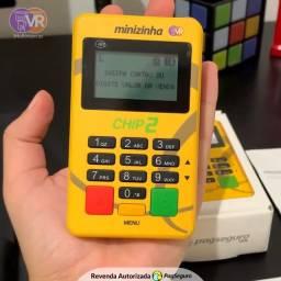 Nova Maquininha de Cartão com Chip