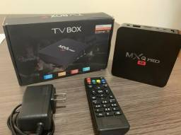 Conversor Smart Tv Mxq Pro 4K Android 9.0 4Gb