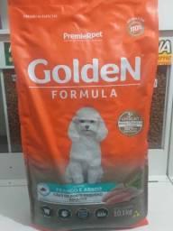 Ração Golden Adultos Raças Pequenas 15kg sabor frango e arroz