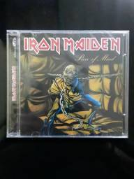 Cd iron maiden piece of mind nacional lacrado