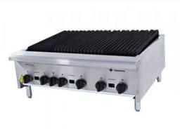 Chapa grill a gás americana 90cm com 18mm- Tainara Rohling