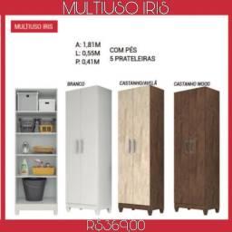 Armário Multiuso c/5 Prateleiras Íris (PROMOÇAO)