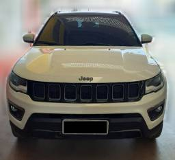 "Jeep Compass 2019, Versão ""S"" 4x4 Diesel, Branco"