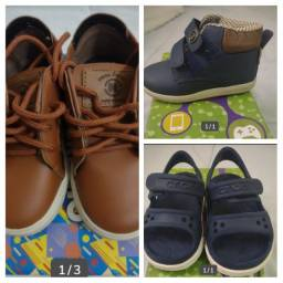 Sapatos infantis, tamanho: 22