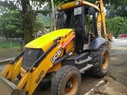 Retro escavadeira JCB 4X2 - 2012