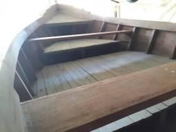 Casco novo para barco de madeira de canela com 8 Metros de comprimento - 2018