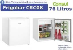 Frigobar Consul 76 Litros Branco - CRC08