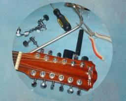 Restaure seu instrumento, manutenção de instrumento de cordas