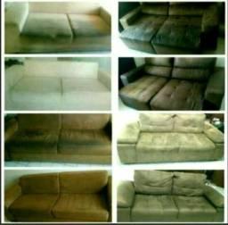 Lavagem de sofás à Seco