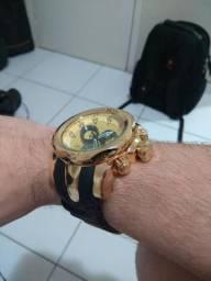 [BLACK FRIDAY] Relógio Dourado