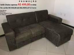 Sofa pop chaise direto de fabrica apenas 499.00