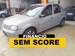 Renault Logan Entrada 4000 financiamento com score baixo