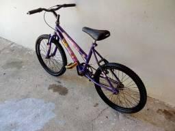 Vendo bicicleta infantil feminina aro 20